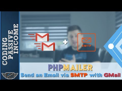 PHPMailer Tutorial: Send an Email via SMTP with GMail