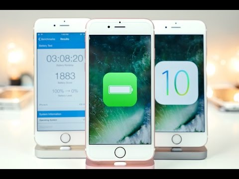 iOS 10 Beta 1 Battery Life Test on ALL iPhones