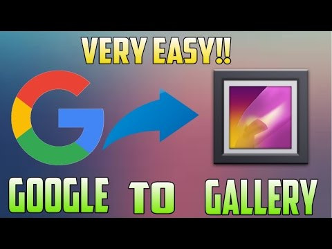How To Get Images from Google to your Gallery on Any Android