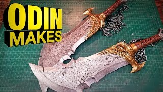 Odin Makes: Blades of Chaos from God of War