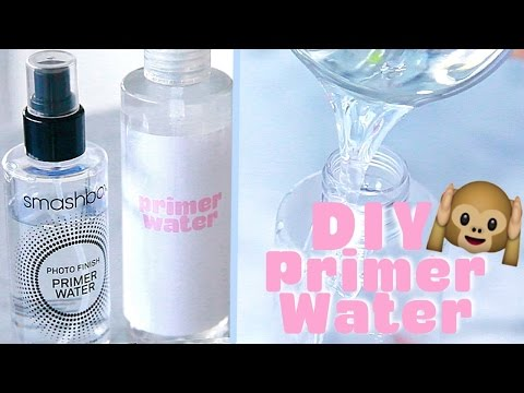 Make Your Own Smashbox Primer Water!?! ♥ Back to School DIY