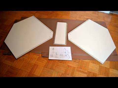 IKEA SEKTION: How to assemble and hang the corner cabinet