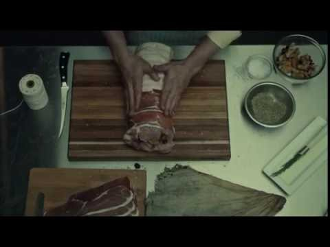 Hannibal Roasts a leg in Clay.