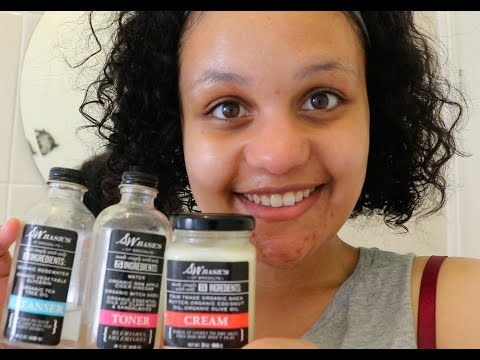 Simple morning skincare routine with S.W. Basics