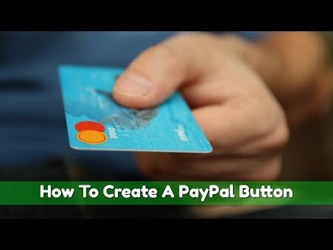 How To Create PayPal Button