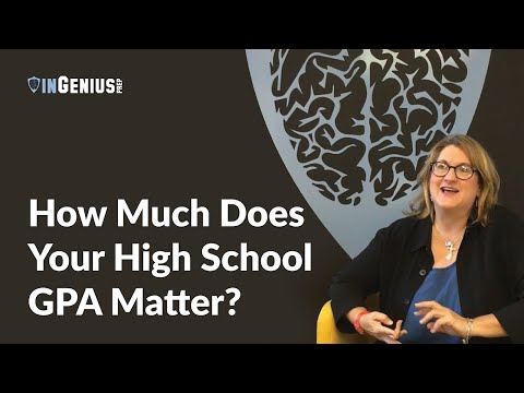How Much Does Your High School GPA Matter?