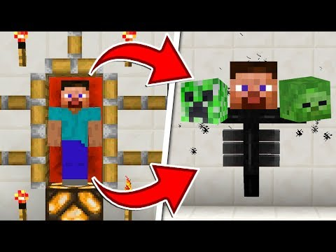 HOW TO MORPH INTO ANY MOB IN MINECRAFT!!