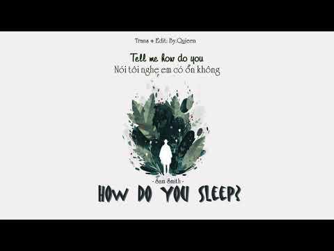 Sam Smith - How do you Sleep ( lyrics & terjemahan Indonesia )