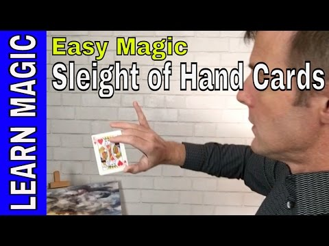 Magic School: Card Productions with Sleight of Hand