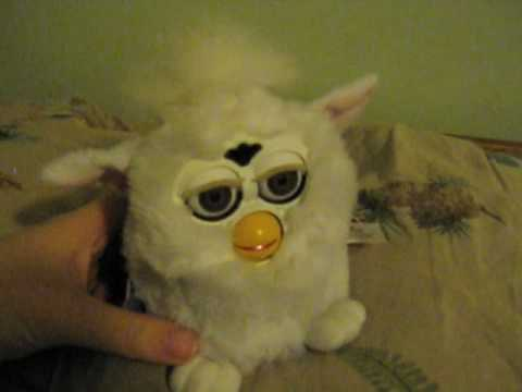 Furby Pretending to Sleep