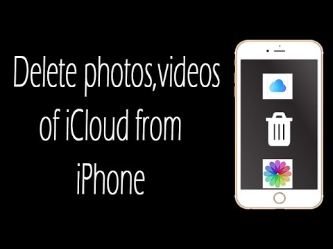 iPhone trick to delete All the Photos and videos of icloud from iPhone.