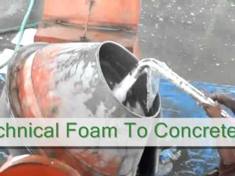 MAKING OF CLC- Foamed  Aerated Concrete,roof deck - mezzanaine floor