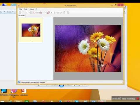 How to Convert jpg, png or gif file to pdf in Urdu/Hindi