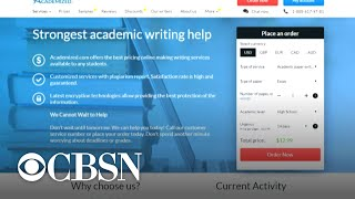 U.S. college students paying overseas writers to complete their assignments