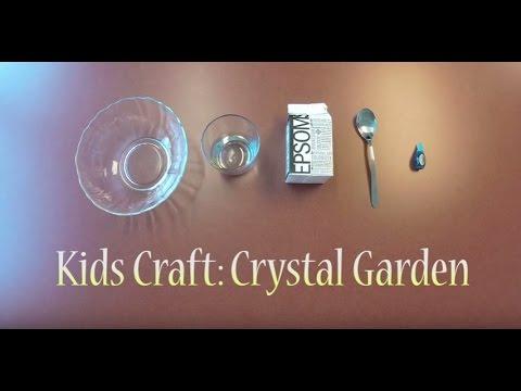 Kids Craft: Crystal Garden