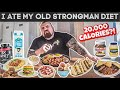 I Ate My Old Strongman Diet For A Day