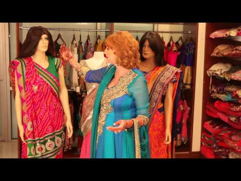Types of Indian Fashion Saris : Indian Wedding Attire