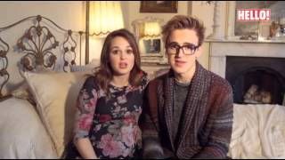 mcflybehind the scenes of tom and giovanna fletchers baby hello magazine