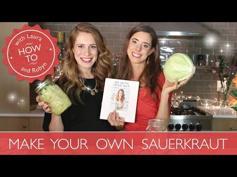 SAUERKRAUT: How to Make Your Own Sauerkraut | Laura Hames Franklin