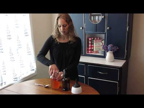 How to Make Water Kefir - Second Ferment with Fruit