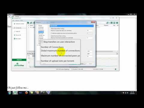 How to make Utorrent 3.1.2 Version Super Fast (100 % Works) 2012.