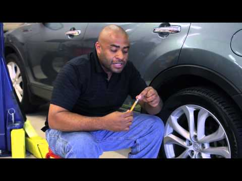 How to Check Air Pressure in Tires : Auto Repair