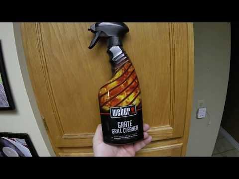 Pro Tip:  Weber Grate Grill Cleaner