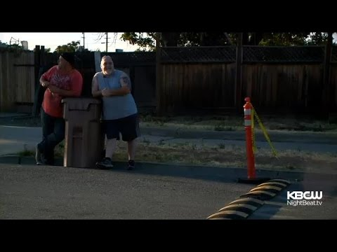 DIY Speed Bump Appears On Antioch Street Where Fatal Hit-And-Run Occurred