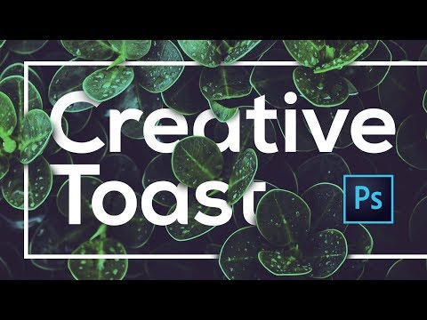 How to create floral/leaf text effect in Photoshop | Text Masking