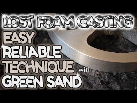 Lost foam casting EASY reliable technique - by VegOilGuy