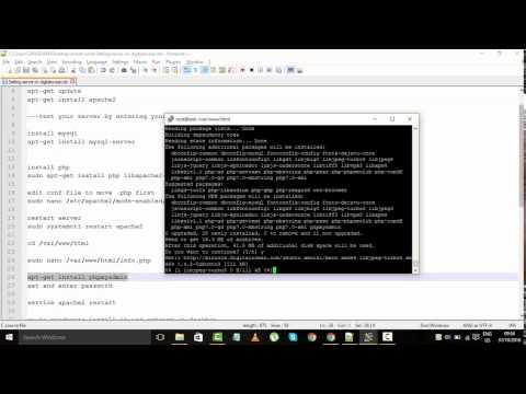 How to Setup/Install LAMP on Ubuntu 16.04 Digital Ocean Droplet Tutorial