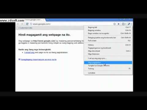 Change Google Chrome Language to English