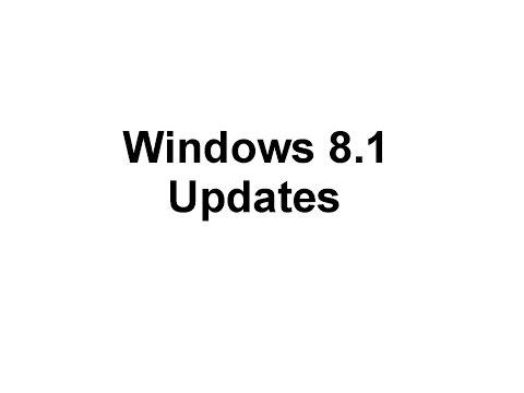 Step 8 - Windows Updates