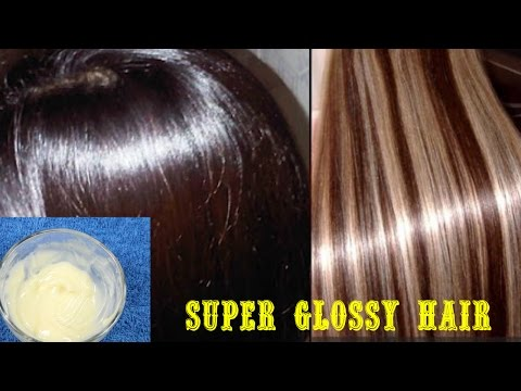 Get super Silky, Glossy & Soft Hair in 1 day | DIY Hair Mask - Deep Conditioner