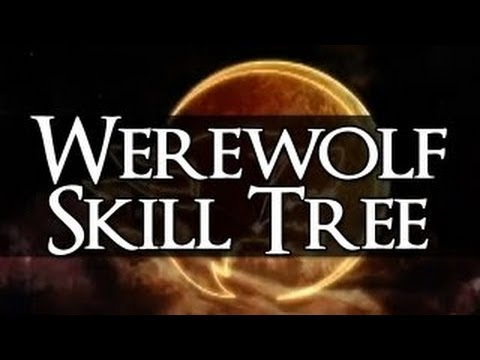 HR Gameplay - Werewolf Perk Tree Skyrim