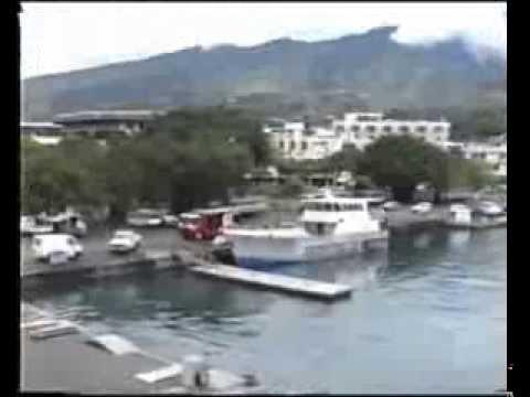 De Papeete à Moorea Novembre 1992