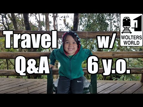 Travel Q&A with Liam: The 6 Year Old Travel Expert