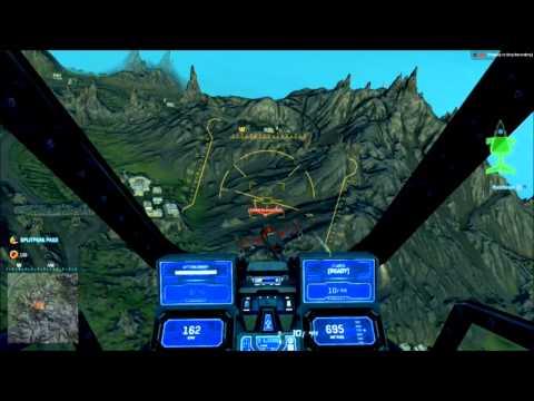 Planetside 2 : Flight Compilation - Reaver.