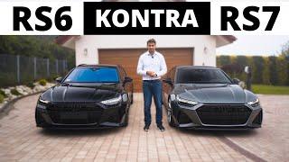 Audi RS6 kontra RS7 - numer więcej dla żony