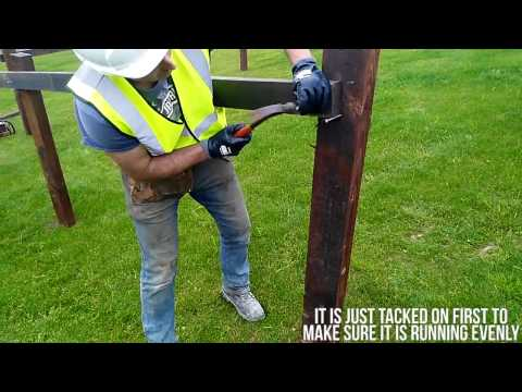 Farmer Know How: Erect a timber fence