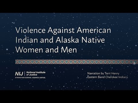 Violence Against American Indian and Alaska Native Women and Men