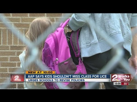AAP: Kids Shouldnt Miss Class For Lice