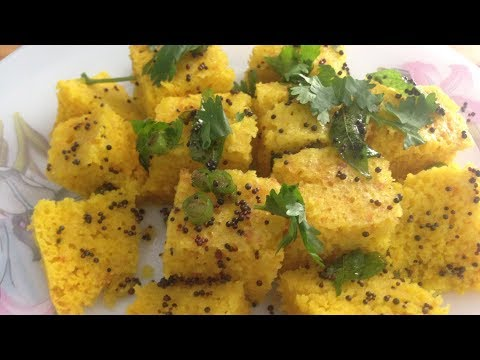 Instant Dhokla | Cooker & Microwave(Both Methods) | With Eno | Soft & Spongy