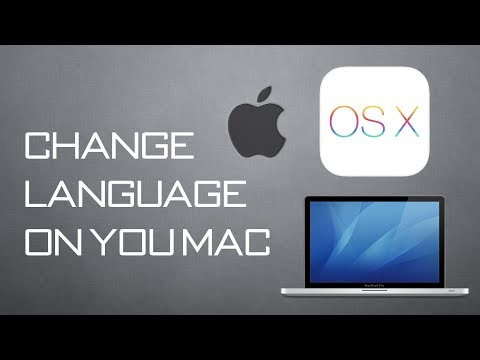 How To Change Language in Mac OS X To Spanish And More