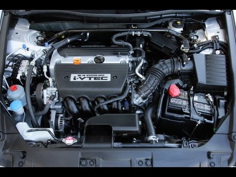 2011 Honda Accord 2.4L Oil Change (part 1 of 2)