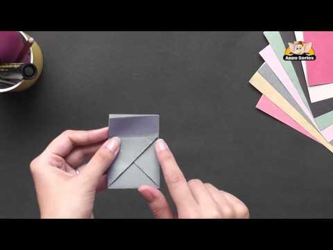 Origami - Origami in Gujarati - Make a Coin Purse (HD)