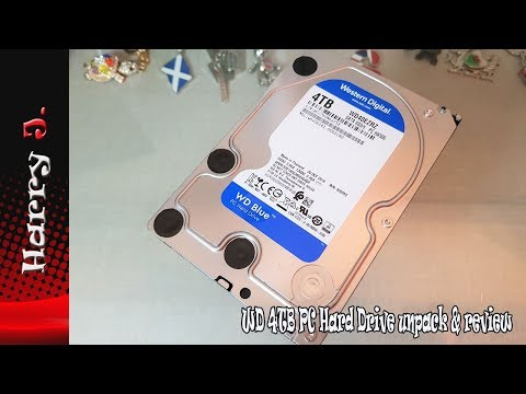 WD 4TB PC Hard Drive unpack & review
