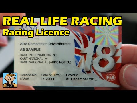 Getting A Racing Licence - Real Life Racing 2018 #3