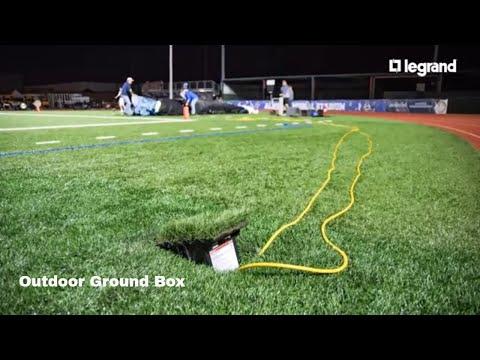 Wiremold Outdoor Ground Box Survives Hurricane Harvey