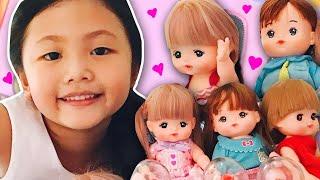 Mell Chan Little Preschool + Fruit Blender and Beauty and Beast Rose